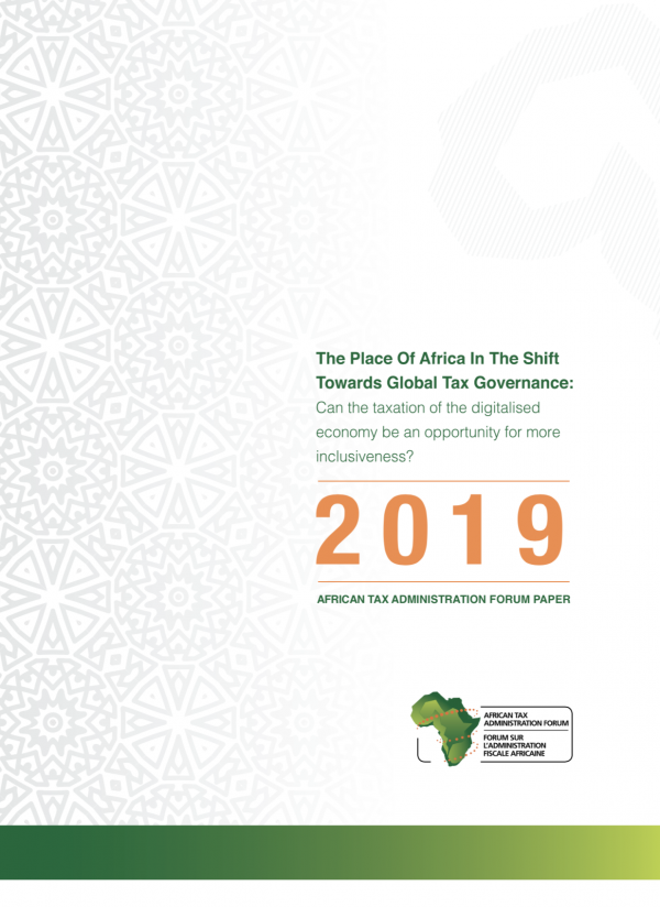 The place of Africa in the shift towards Global Tax Governance: Can the taxation of the digitalised economy be an opportunity for more inclusiveness