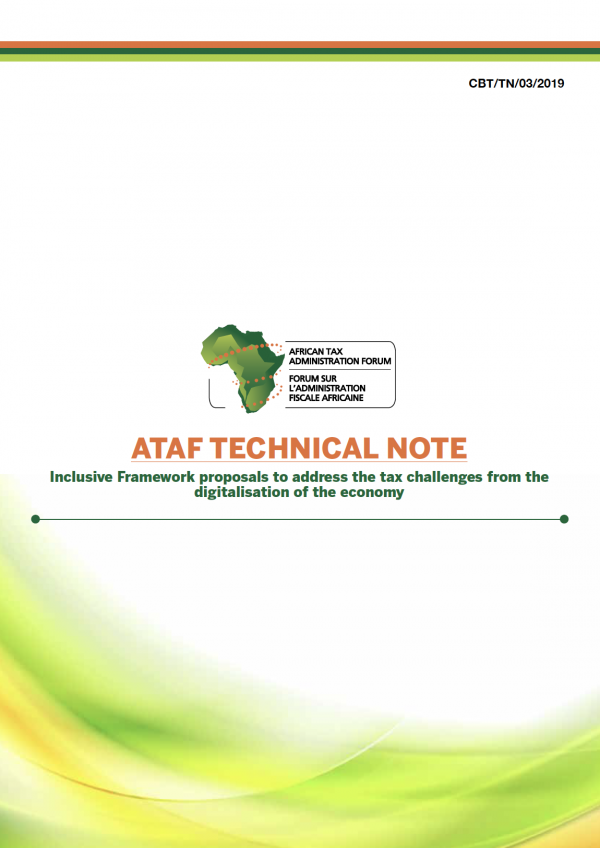 ATAF 3rd Technical Note